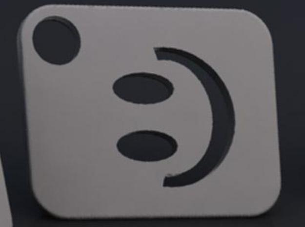 Flash Cover Smiley 3d printed Render