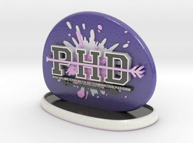 PHD in Glossy Full Color Sandstone
