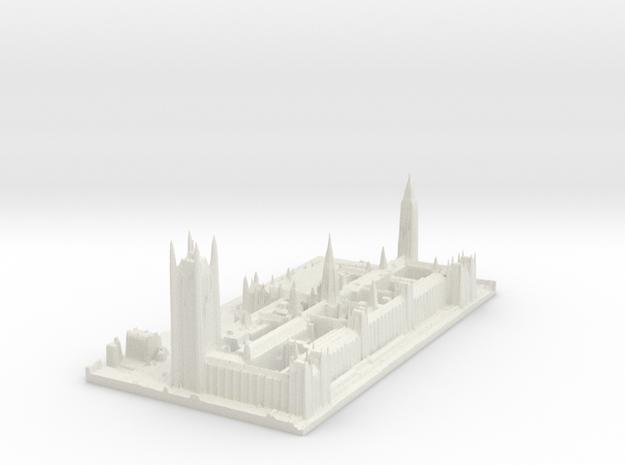 Palace of Westminster / Big Ben Map, London