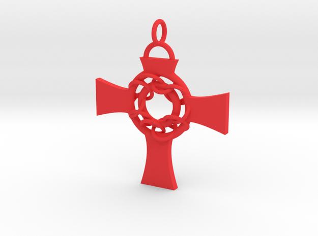 Celtic Circle Cross Pendant