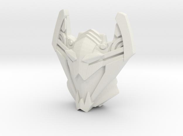 Sideways, Cybertron Face (Titans Return) in White Strong & Flexible