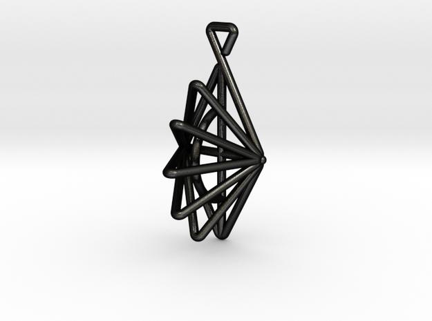 Dreieck in Matte Black Steel