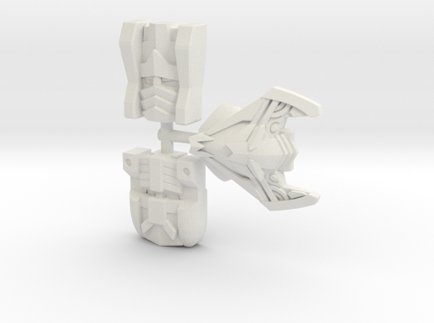 Sideways Faces 3-Pack (Titans Return) in White Strong & Flexible