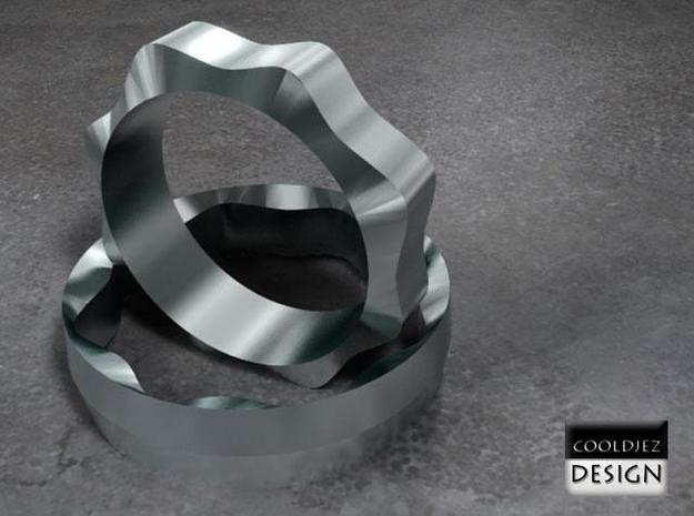 Ring - Wedding Gent 3d printed Two