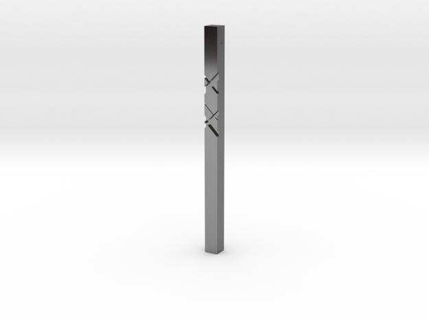 Pendant 2D in Premium Silver