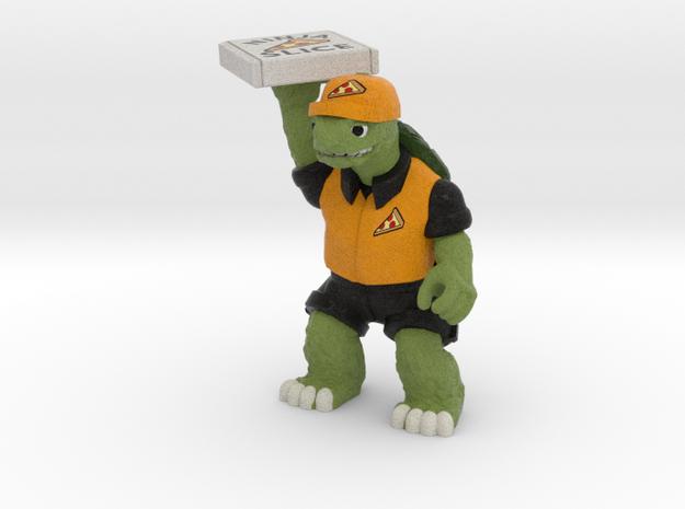 Day-Job Tortoise, Food Service (Sandstone) in Full Color Sandstone