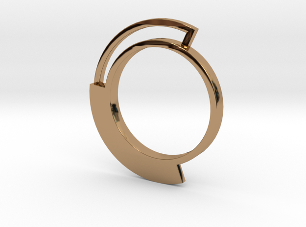 Mignolo 3 Fis in Polished Brass