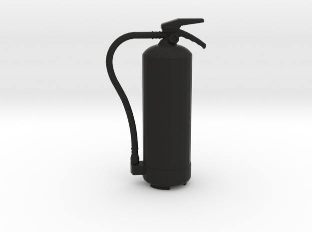 Fire Extinguisher Type 1 - 1/10 in Black Natural Versatile Plastic