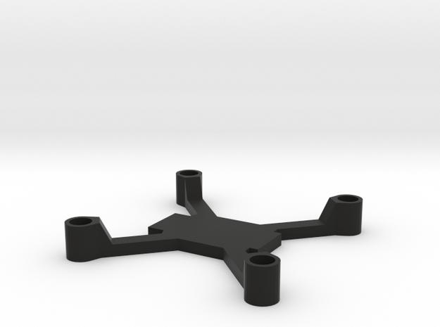 Micro Brushed 100mm in Black Natural Versatile Plastic