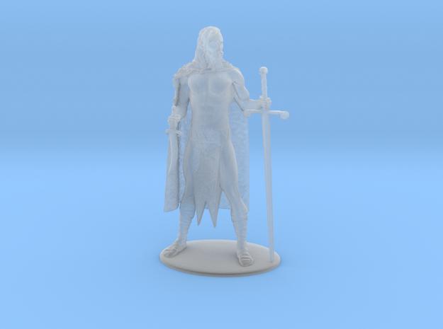 AdventureQuest: Jaern Barbarian Miniature in Smoothest Fine Detail Plastic: 1:60.96
