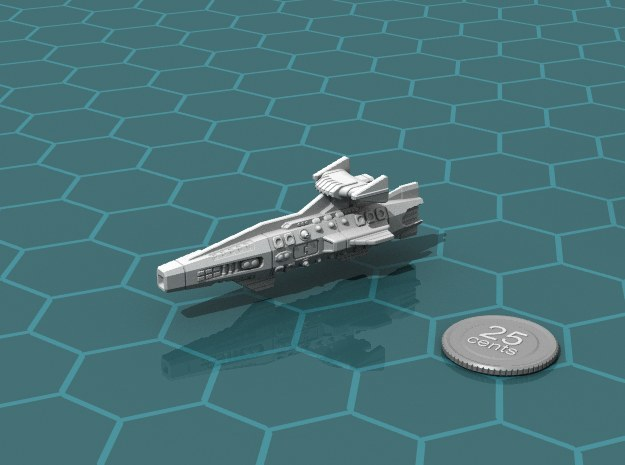 Ikennek Heavy Cruiser in White Strong & Flexible