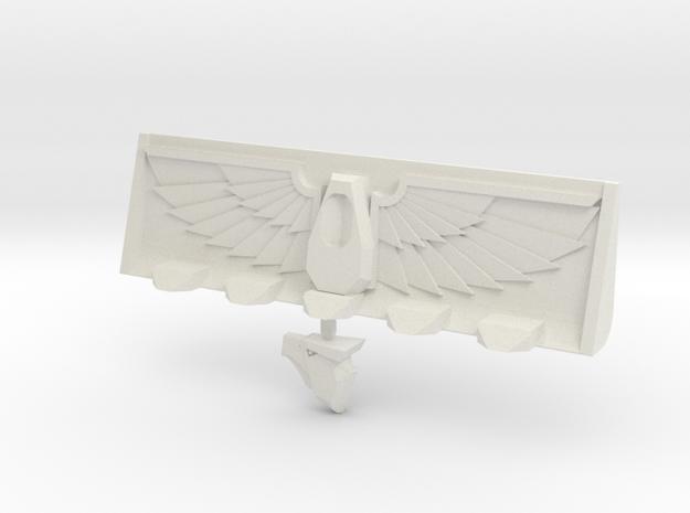Devotional Eagle Bulldozer Blade in White Strong & Flexible
