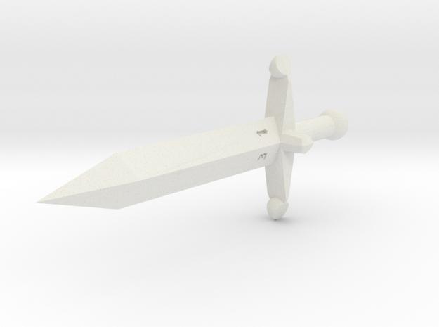 Dagger D4 in White Strong & Flexible