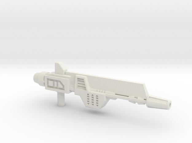 Plasma Pulse Gun for TR Broadside in White Strong & Flexible