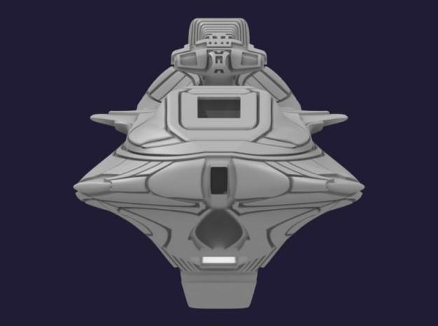 Montgomery Heavy Cruiser 3d printed Front View