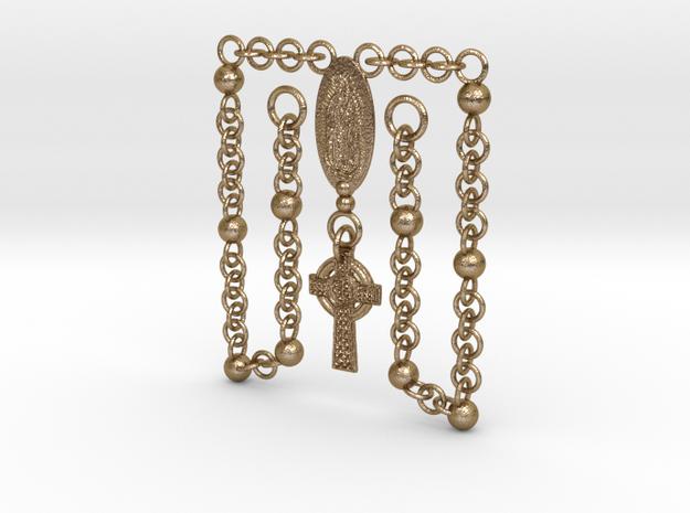 Maria & Cross Pendant Necklace