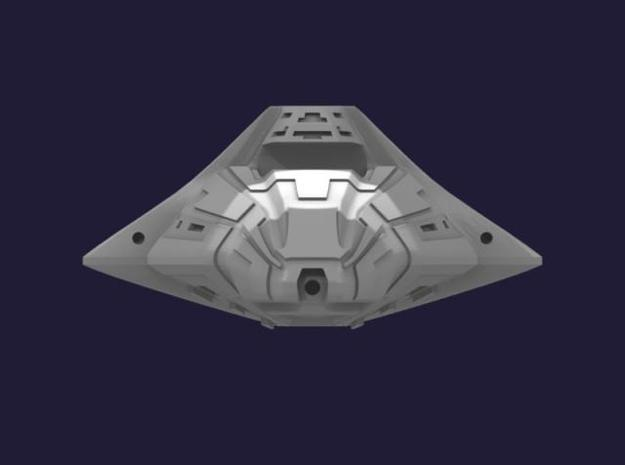 Shanghai Frigate 3d printed Front View