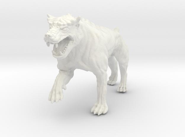 Dungeon Dog: Warrior in White Natural Versatile Plastic