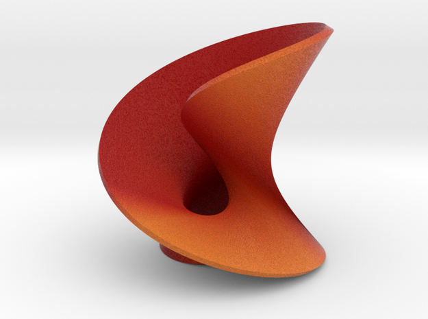 Abstact mobius leaf