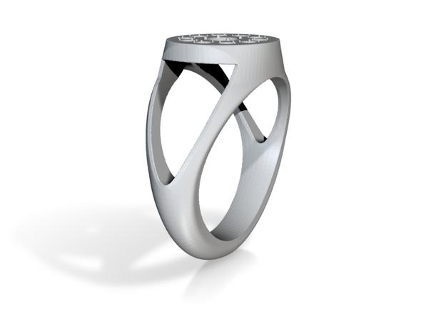 11 Stone Mens Ring Fixed 2.0
