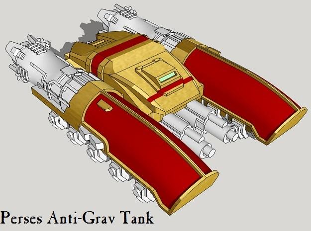 6mm Perses Light Anti-Grav Tanks (4pcs)