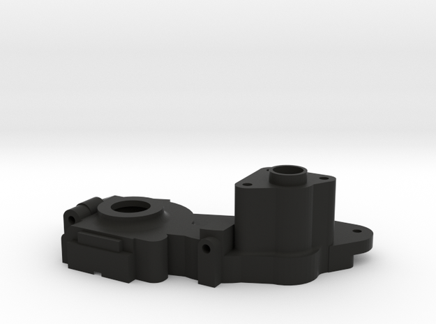 V2 TLR 3 Gear Laydown Transmission (right) in Black Strong & Flexible