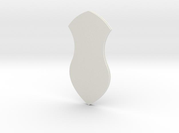 """4in Sandal w/ """"Rasūl Allāh"""" in White Strong & Flexible"""
