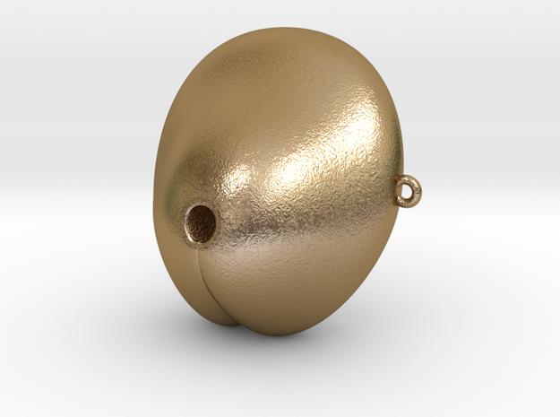 Electrosex Penis tip, E-Stim V3 Large in Polished Gold Steel