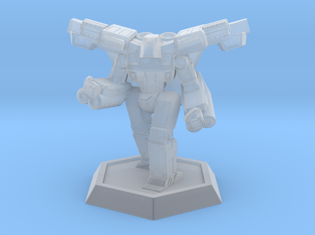 Mecha- Crusher LAM (1/937th) Mech in Smooth Fine Detail Plastic