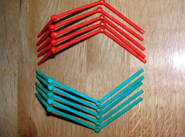 Righthand piece Dodecahadral Puzzle 3d printed pieces
