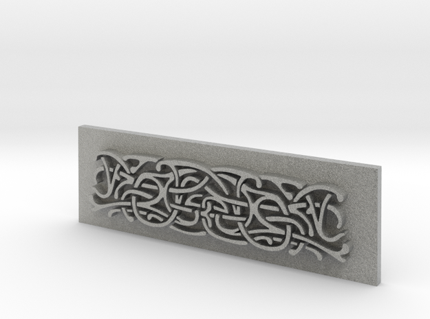 Thor Hammer (Mjolnir) Scroll panel