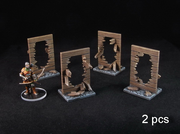 Broken Walls tokens (28-32mm scale)