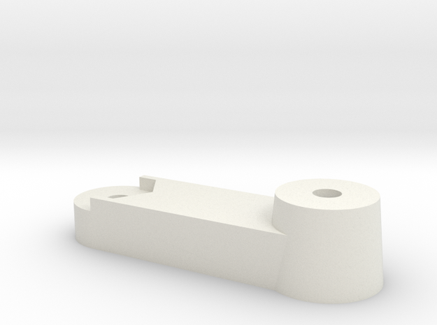 M.2 60mm to 80mm SSD bracket  in White Strong & Flexible