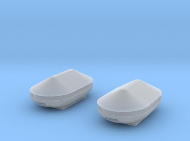 Docking Bay: Tanks, 1:72 in Smooth Fine Detail Plastic