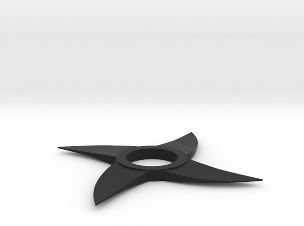 Throwing Star Spinner in Black Strong & Flexible