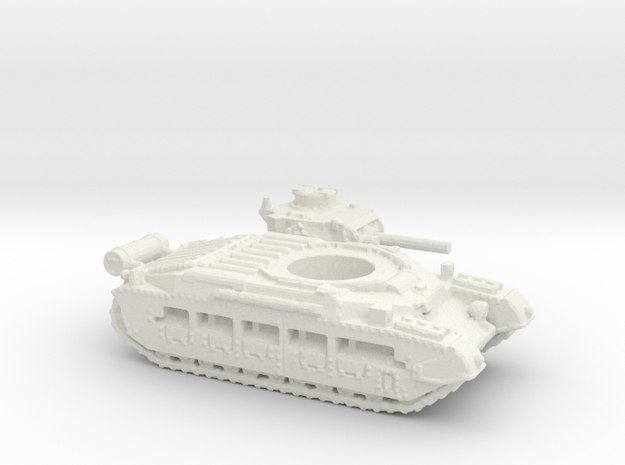 Matilda II with Fuel tank (British) 1/200 in White Strong & Flexible