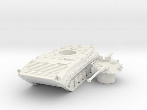 Bmp-1 tank (Russian) 1/87 in White Natural Versatile Plastic
