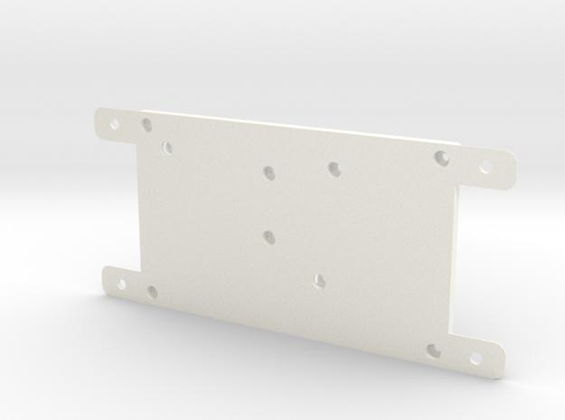 EnclosureBtm4 in White Strong & Flexible Polished