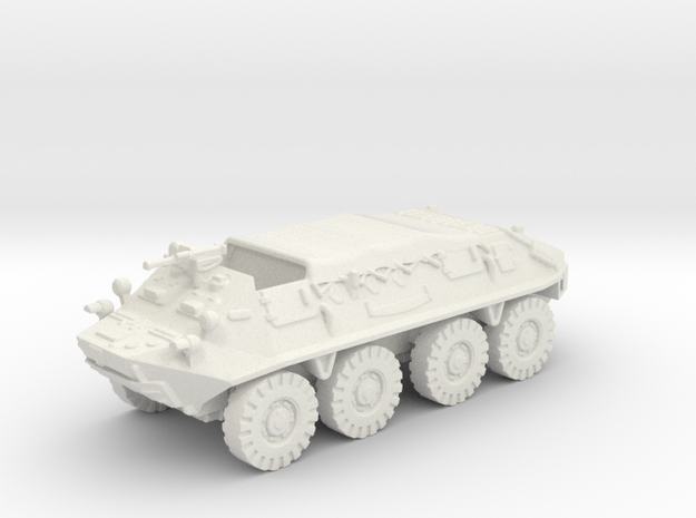 BTR 60 closed (Russian) 1/87 in White Strong & Flexible