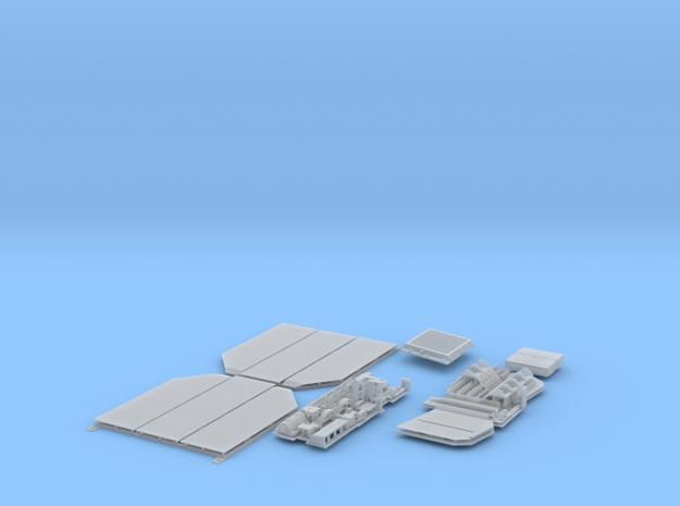 1:16 Jagdpanzer 38 detail set (part 1) in Smooth Fine Detail Plastic