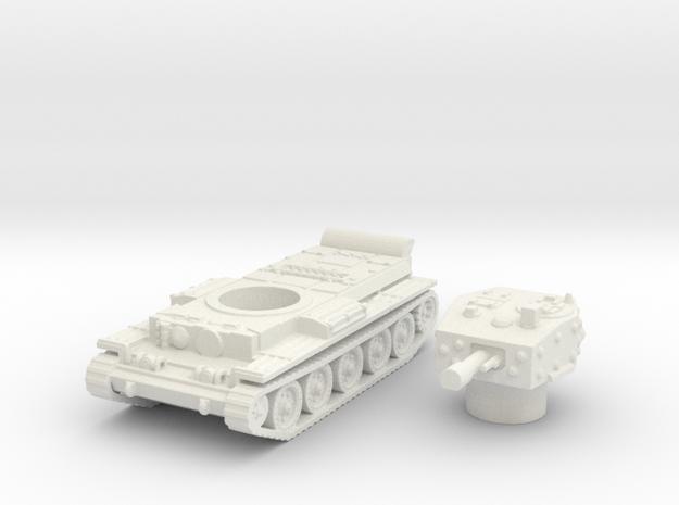 Centaur IV Tank (British) power 1/144 in White Natural Versatile Plastic