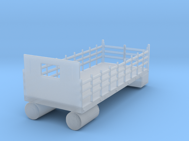Stake Bed in Smooth Fine Detail Plastic