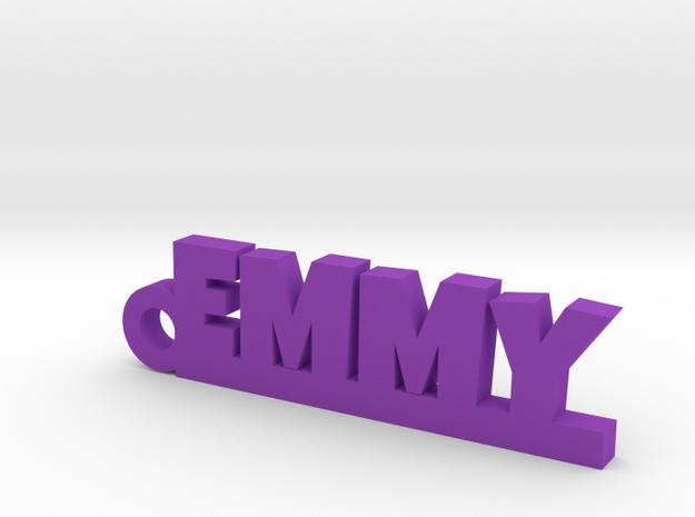 EMMY Keychain Lucky in Purple Processed Versatile Plastic