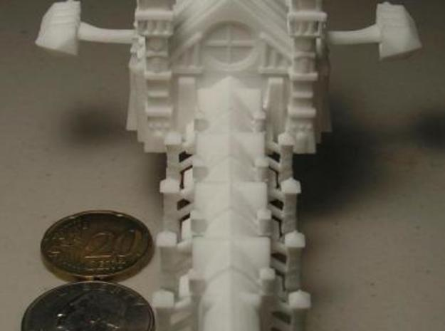 Gothic Battleship 3d printed Front