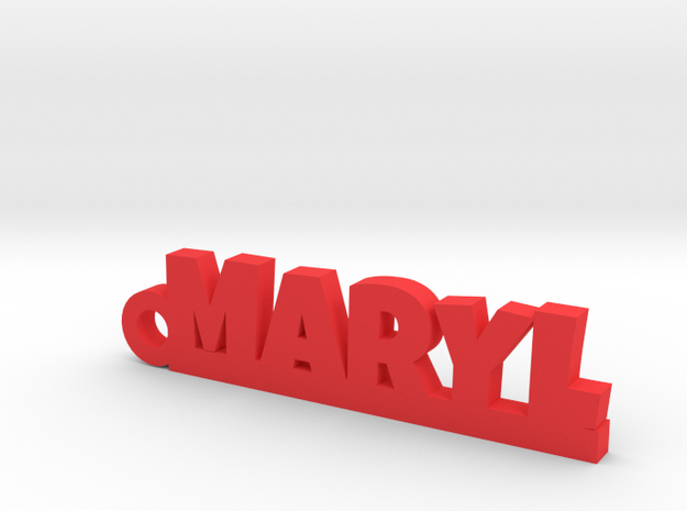 MARYL Keychain Lucky in Red Processed Versatile Plastic
