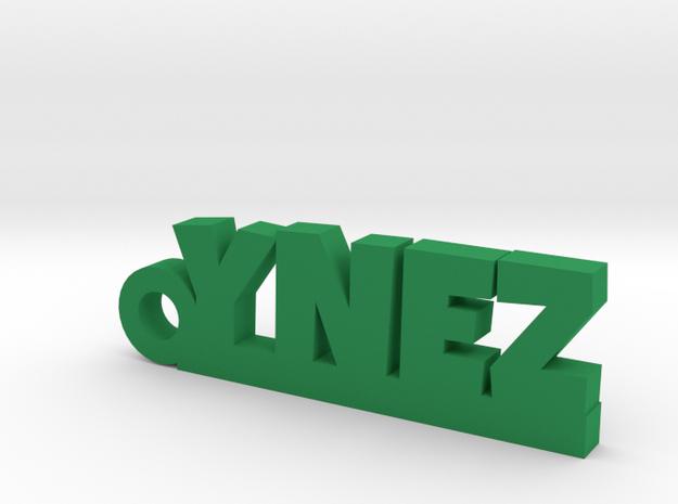 YNEZ Keychain Lucky in Green Processed Versatile Plastic
