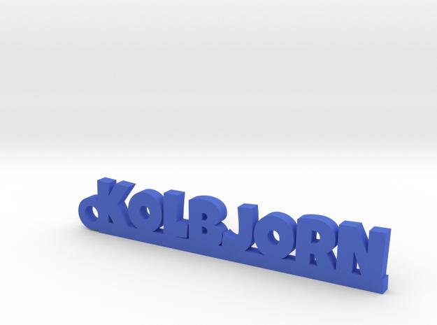KOLBJORN Keychain Lucky in Blue Processed Versatile Plastic