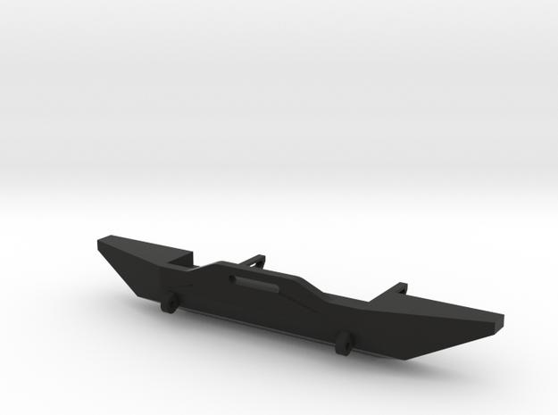 Winch Bumper for Axial SCX10 1:10 in Black Natural Versatile Plastic