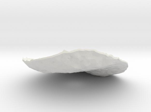 Betula Cover Lid in White Natural Versatile Plastic