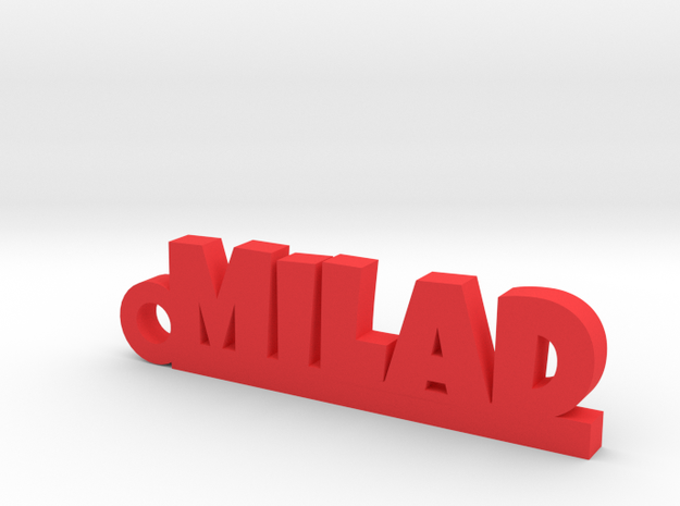 MILAD Keychain Lucky in Red Processed Versatile Plastic